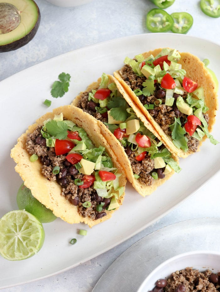 Easy Vegan Tacos  Vegan Tacos Soy Free