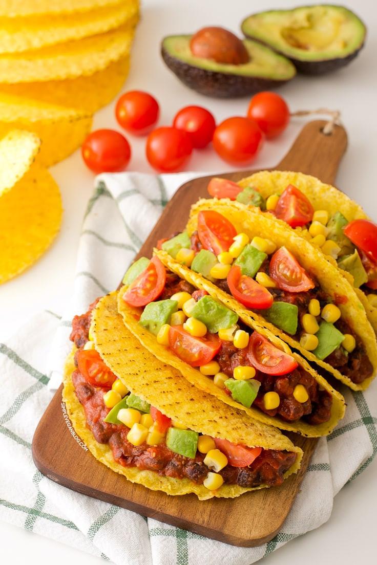 Easy Vegan Tacos  15 Minute Simple Vegan Tacos Simple Vegan Blog