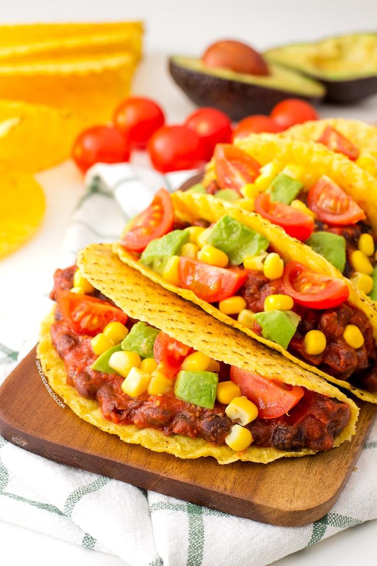 Easy Vegan Tacos  15 Minute Simple Vegan Tacos