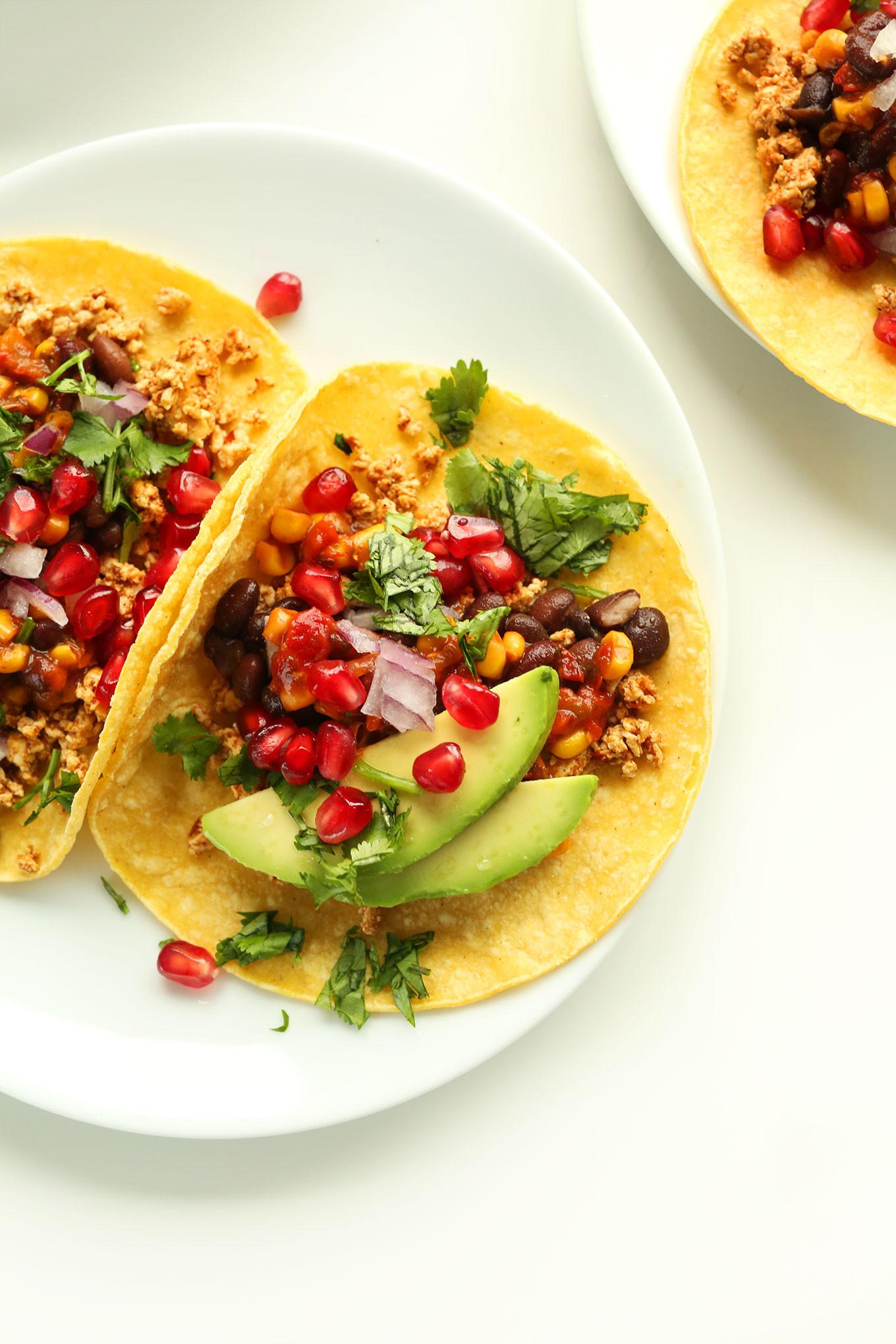 Easy Vegan Tacos  Vegan Breakfast Tacos