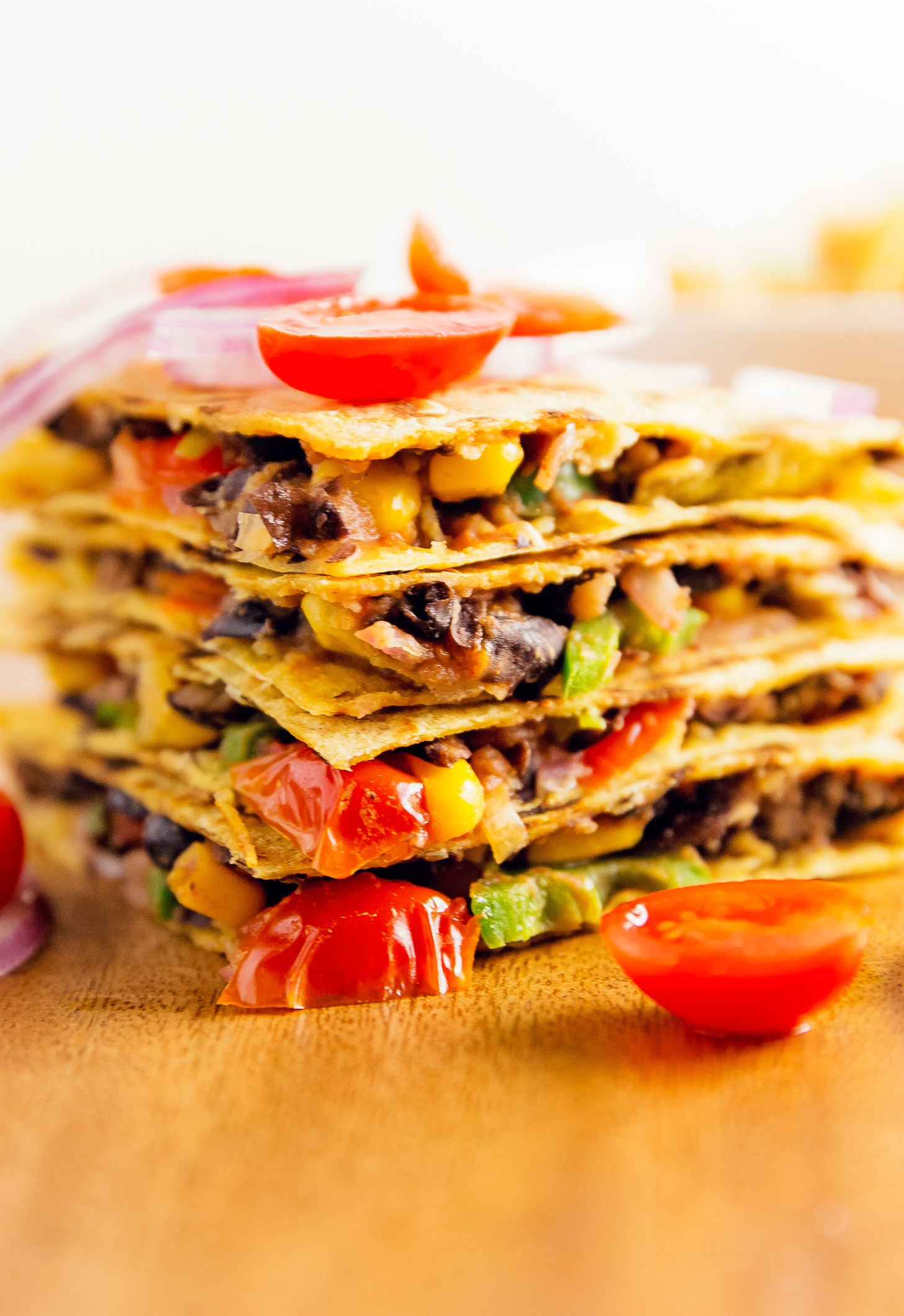 Easy Whole Food Plant Based Recipes  Quesadillas Monkey and Me Kitchen Adventures