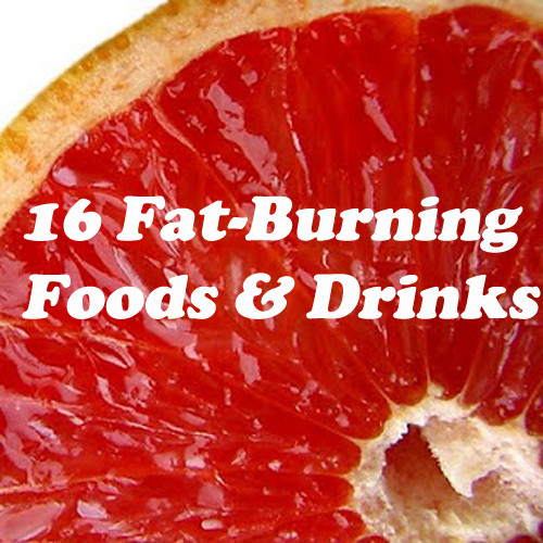 Fat Burning Foods And Drinks  16 Fat Burning Foods and Drinks MyThirtySpot
