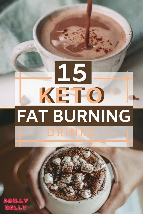 Fat Burning Foods Belly Drinks  15 Keto Diet Fat Burning Drinks BoillyBelly Keto Food