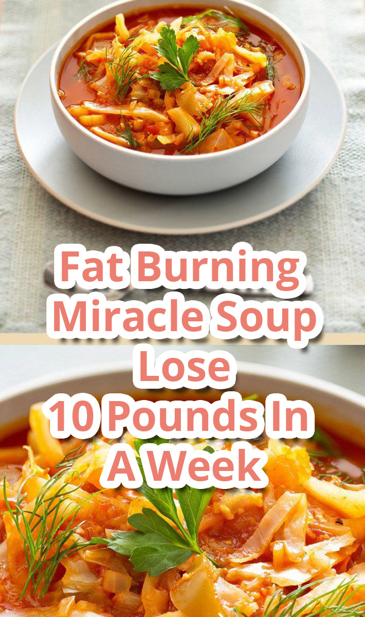 Fat Burning Foods Losing Weight 10 Pounds  Tips About Life Fat Burning Miracle Soup Lose 10 Pounds In