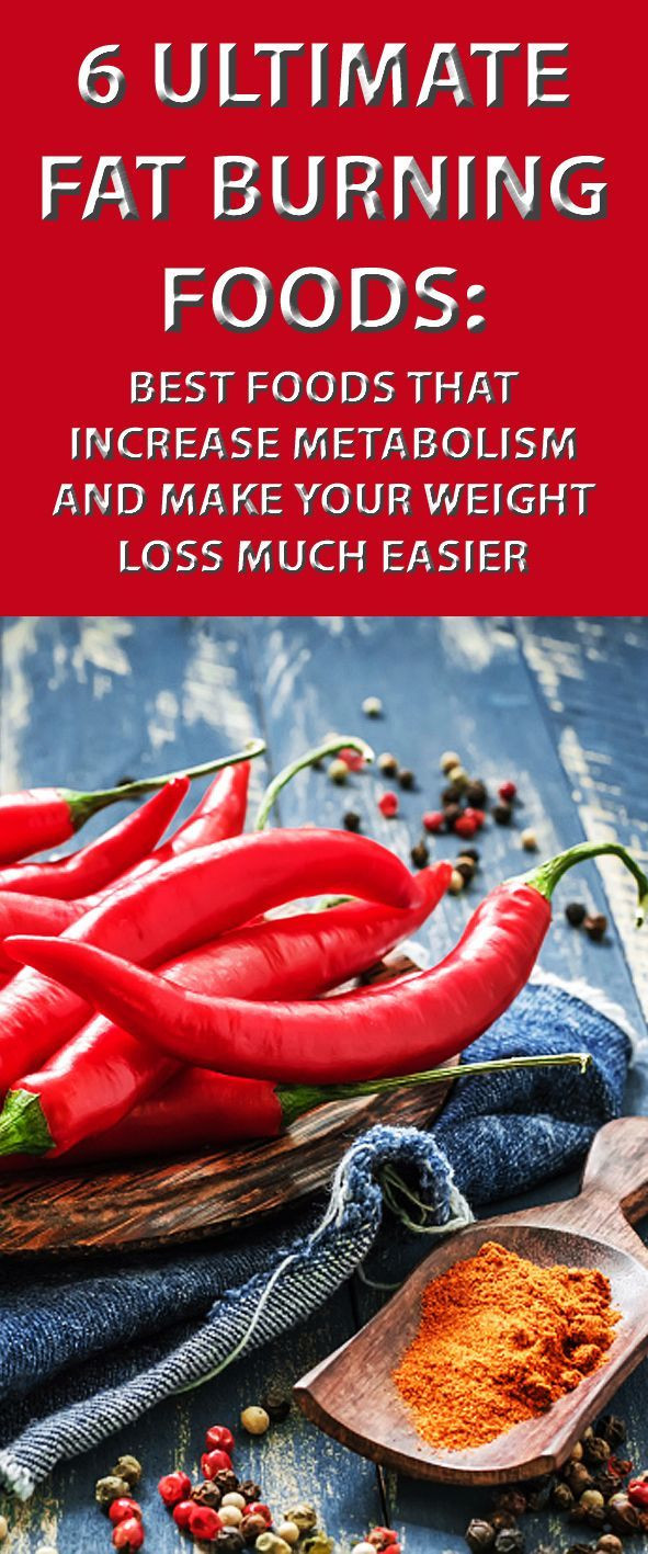 Fat Burning Foods Losing Weight Metabolism  Pin on Health