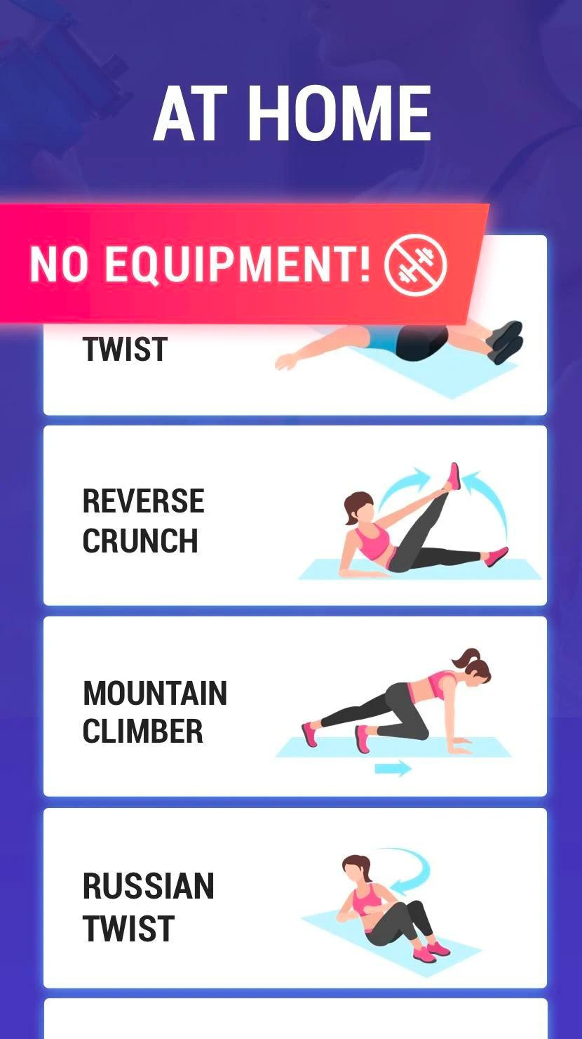 Fat Burning Workout At Home Flat Stomach  Lose Belly Fat in 30 Days Flat Stomach for Android APK