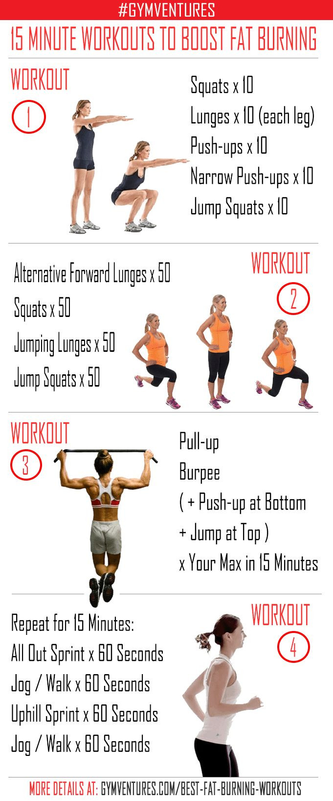 Fat Burning Workout For Men At Home  14 best Awesome At Home Workouts images on Pinterest