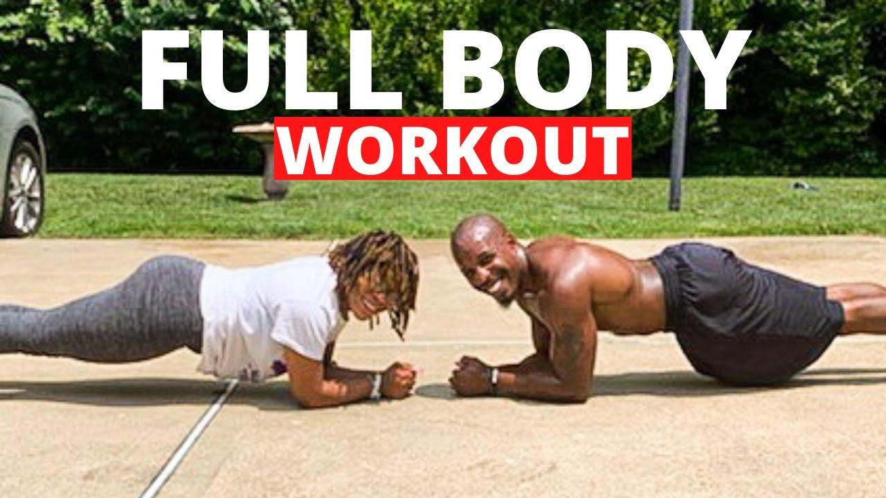 Fat Burning Workout For Men Full Body  10 Minute FULL BODY WORKOUT