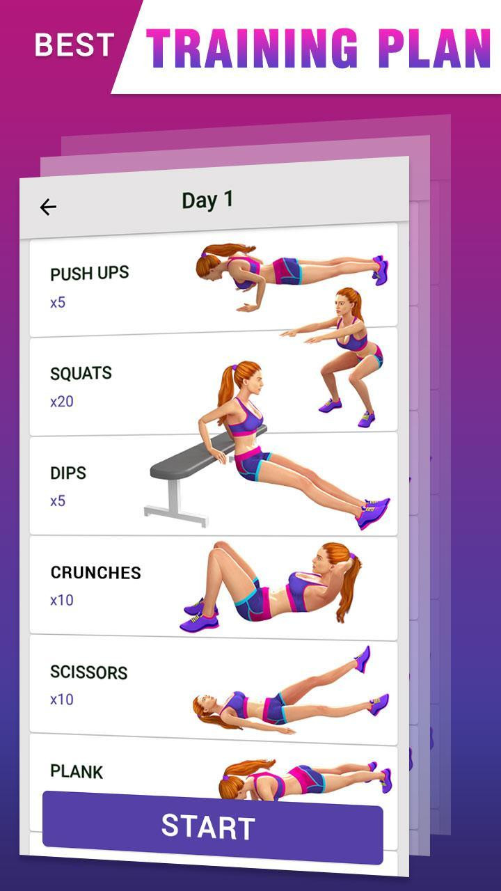 Fat Burning Workout Tiktok  Fat Burning Workout for Android APK Download