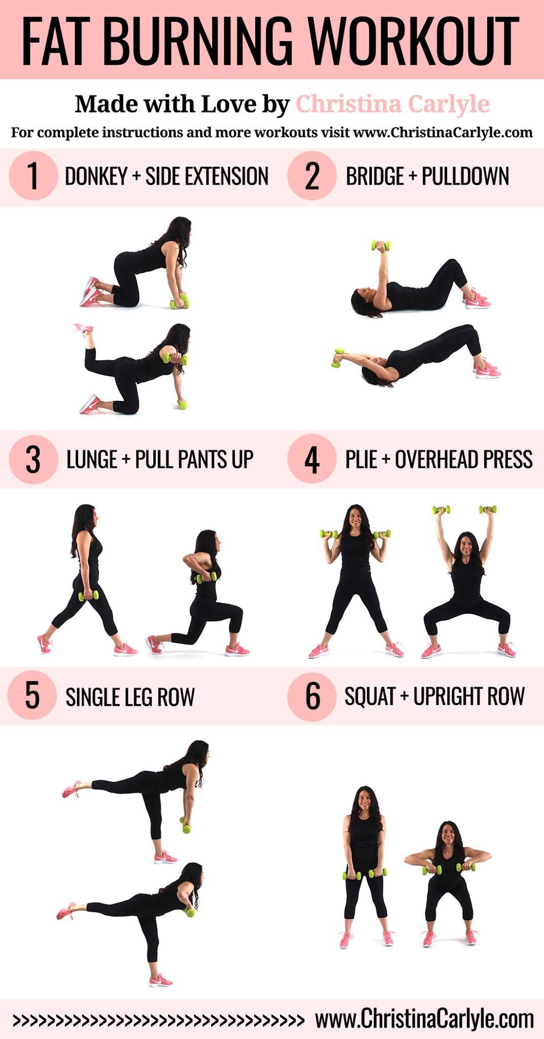 Fat Burning Workout Tiktok  Fat Burning Workout Routine for Women