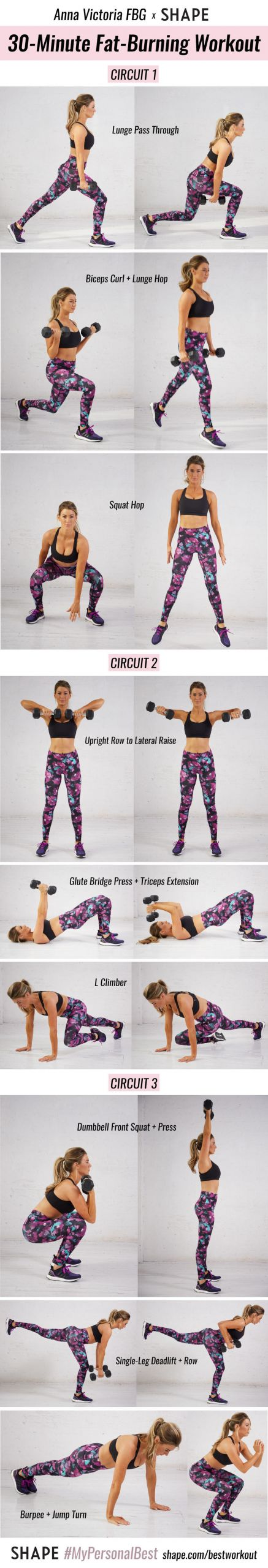 Fat Burning Workout Tiktok  This Fat Burning Workout By Anna Victoria Will Help You