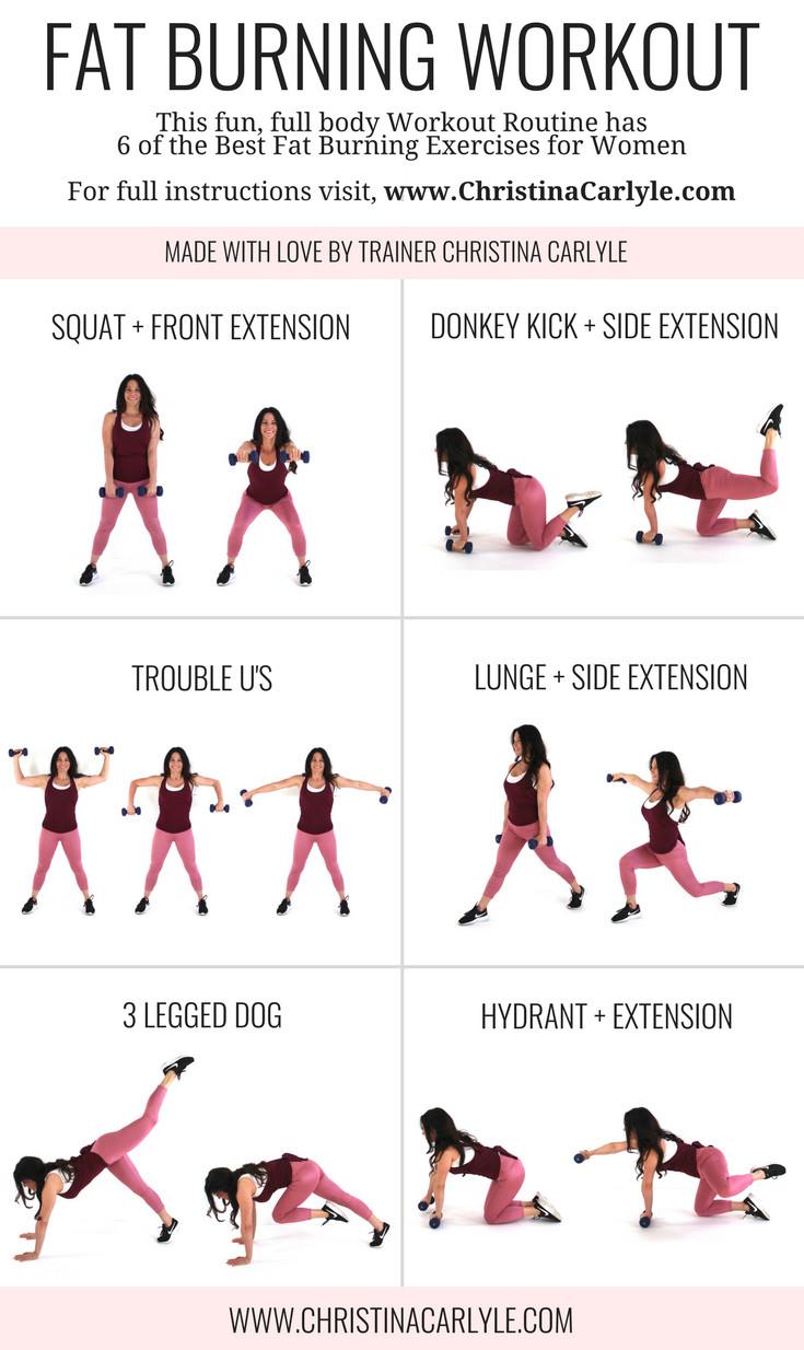 Fat Burning Workout Tiktok  Full Body Fat Burning HIIT Workout Routine for Women