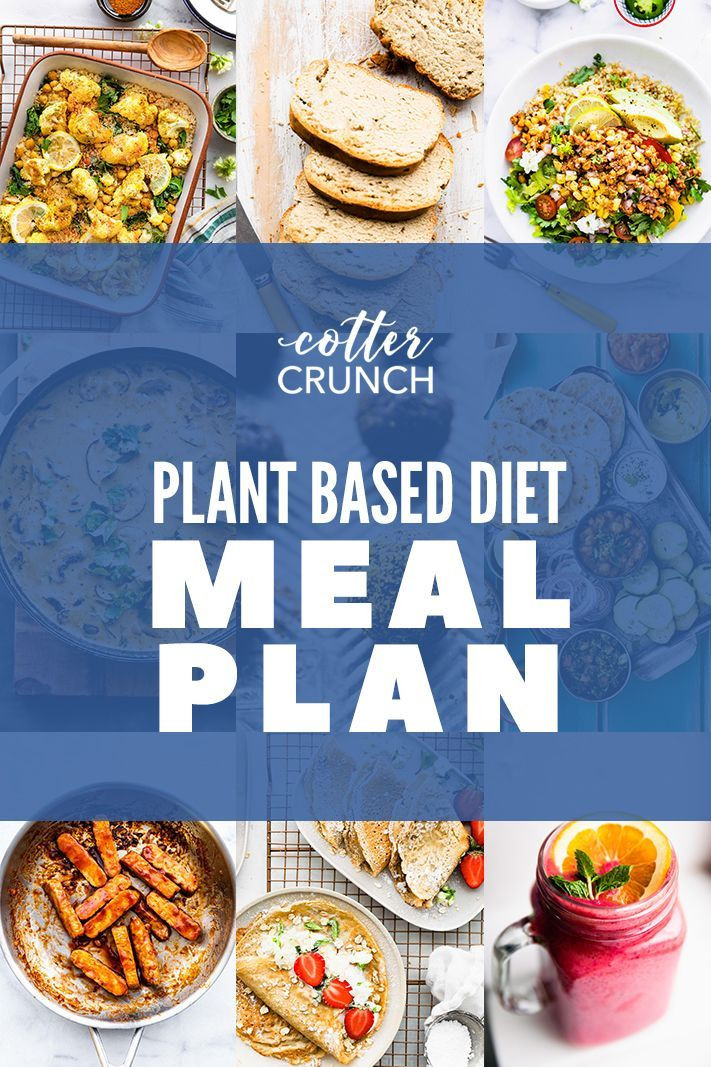 Gluten Free Plant Based Diet  Plant Based Diet Meal Plan & Grocery List Gluten Free in