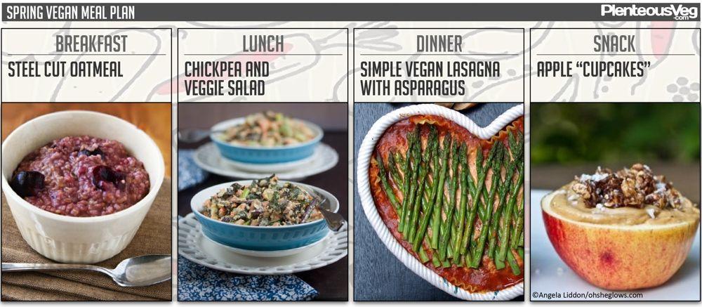 Going Vegan Plan  Easy Vegan Meal Plans by Season