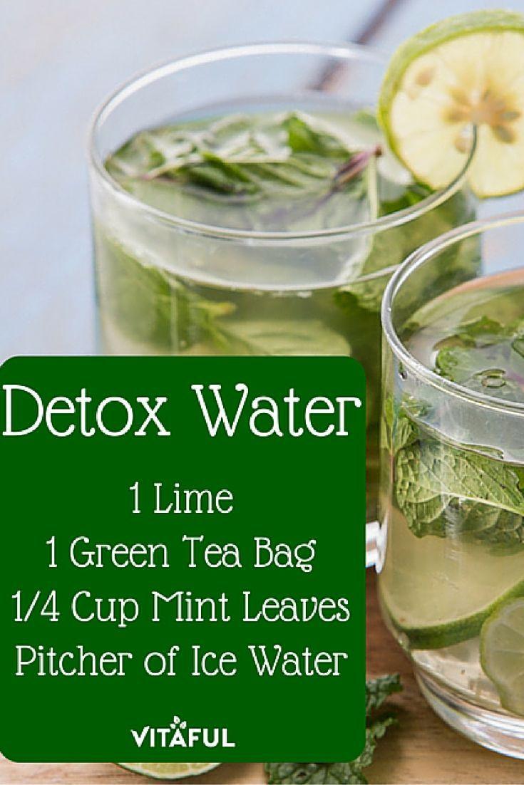 Green Tea Weight Loss Drink Detox Waters  Green Tea Detox Water Recipe For Weight Loss