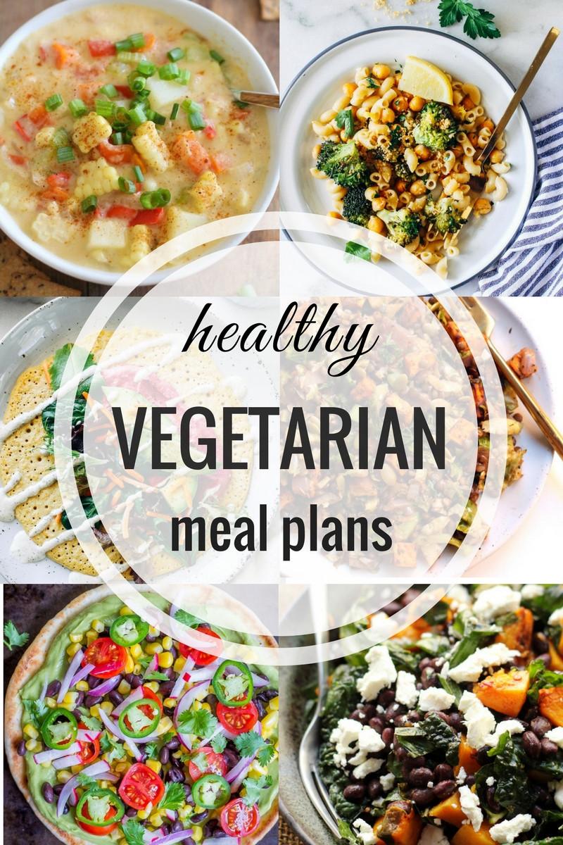 Healthy Vegan Plan  Healthy Ve arian Meal Plan Week of 9 16 2017