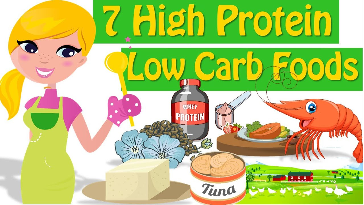 High Protein Low Carb Diet  7 High Protein Low Carb Foods Good Sources Protein