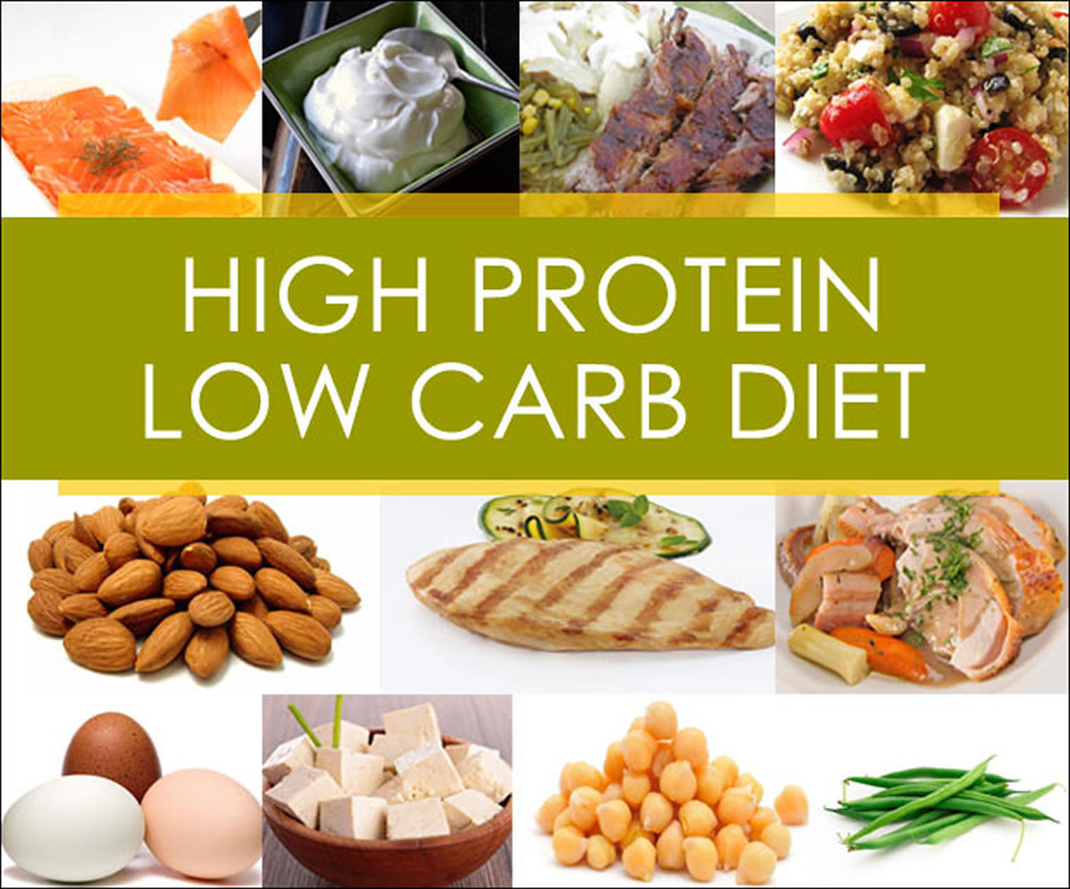 High Protein Low Carb Low Fat Diet  High Protein Low Carb Diet for Weight Loss What Are The