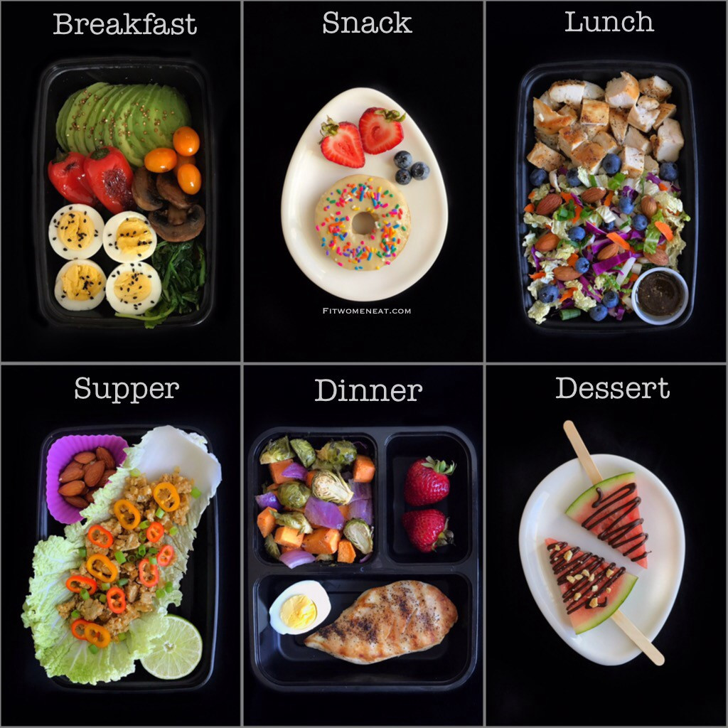 High Protein Low Carb Low Fat Diet  High Protein Low Carb Meal Prep Breakdown Fit Women Eat