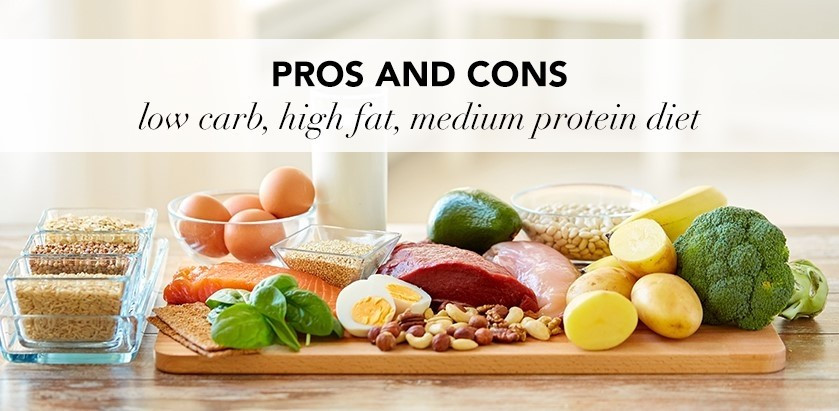 High Protein Low Carb Low Fat Diet  PROS AND CONS OF A LOW CARB HIGH FAT MEDIUM PROTEIN DIET