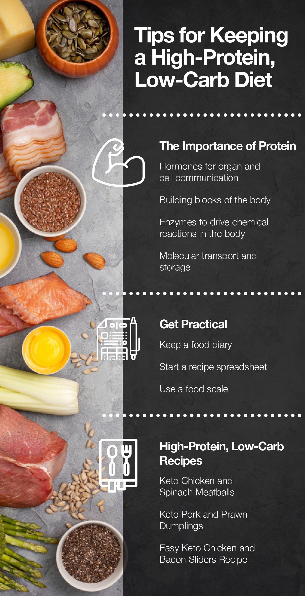 High Protein Low Carb Low Fat Diet  Tips for Keeping a High Protein Low Carb Diet Fitoru