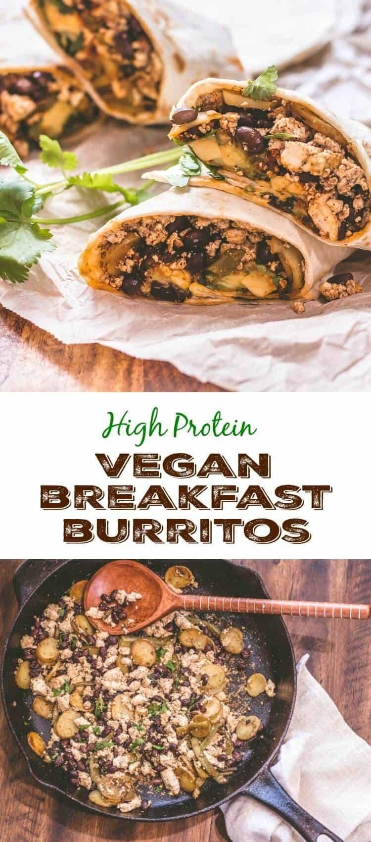 High Protein Vegan Breakfast  High Protein Vegan Breakfast Burritos Beyond Mere Sustenance