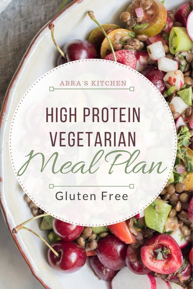 High Protein Vegan Plan  High Protein Ve arian Meal Plan