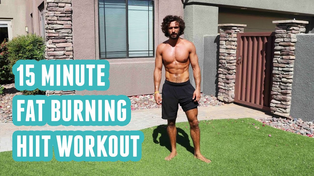 Hiit Fat Burning Workouts  15 Minute Fat Burning HIIT Workout No Equipment