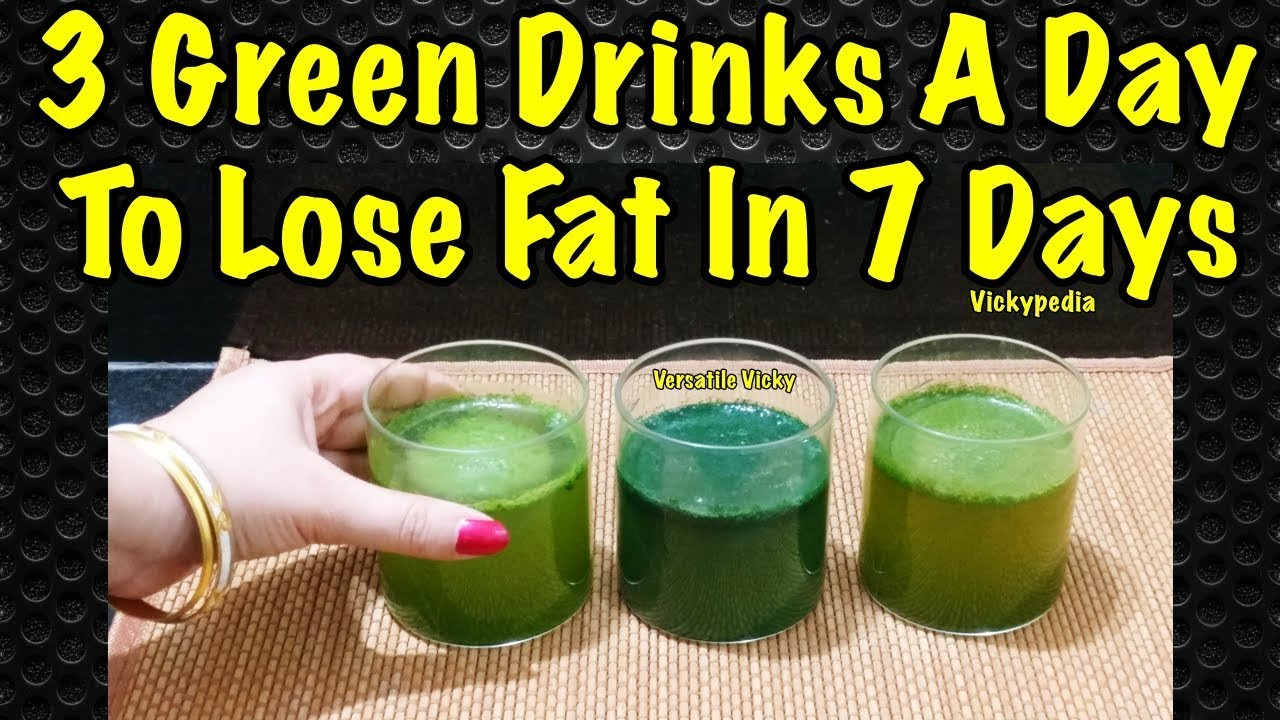 How To Lose Belly Fat Fast Flat Stomach Drink  How to Lose Belly Fat in 1 Week