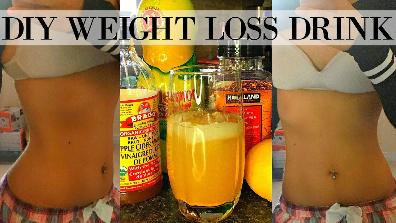 How To Lose Belly Fat Fast Flat Stomach Drink  DIY FLAT BELLY WEIGHT LOSS DRINK