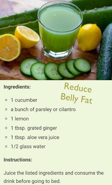 How To Lose Belly Fat Fast Flat Stomach Drink  Bedtime Fat Burning Juice Works Best Style Vast