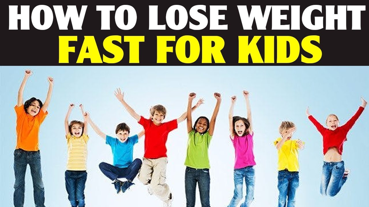 How To Lose Belly Fat Fast For Kids  How to Lose Weight Fast For Kids