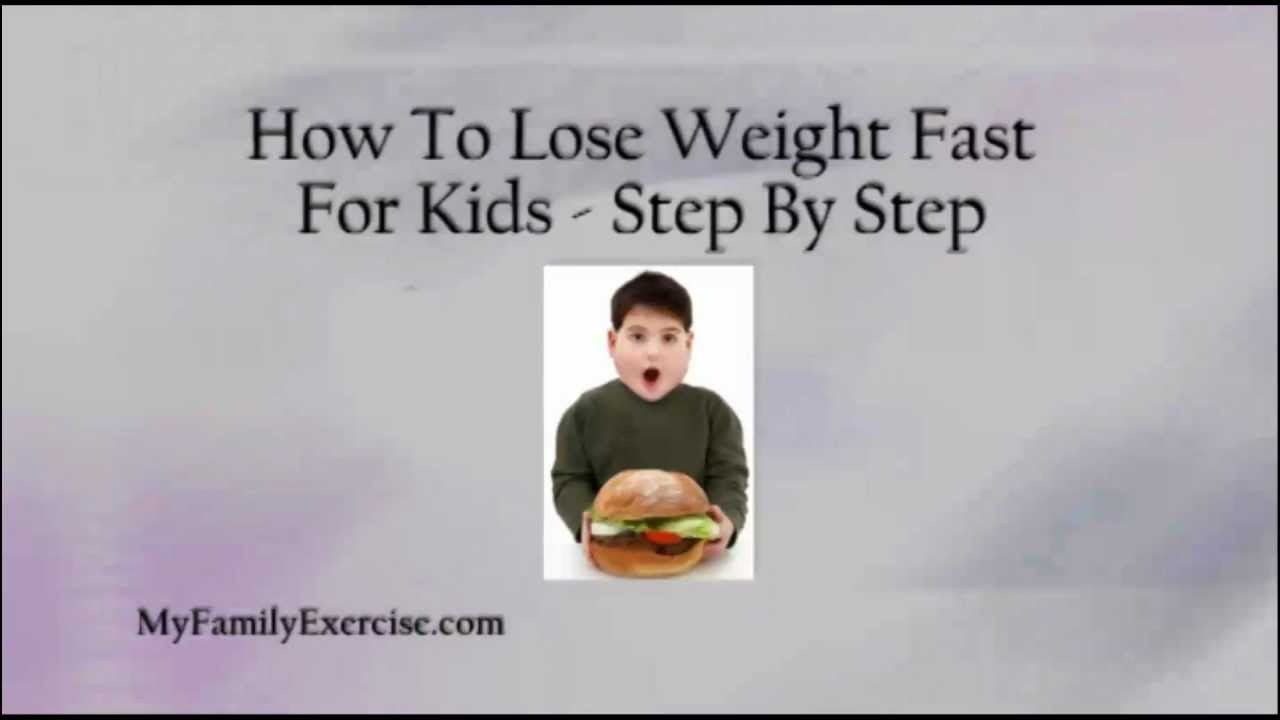 How To Lose Belly Fat Fast For Kids  How To Lose Weight Fast For Kids Step By Step