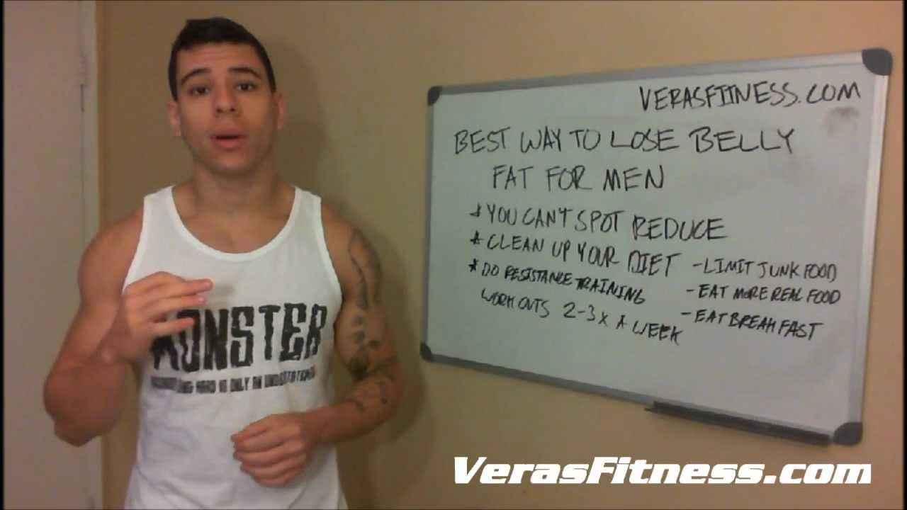 How To Lose Belly Fat For Men  Best Way To Lose Belly Fat For Men Works For Women Too