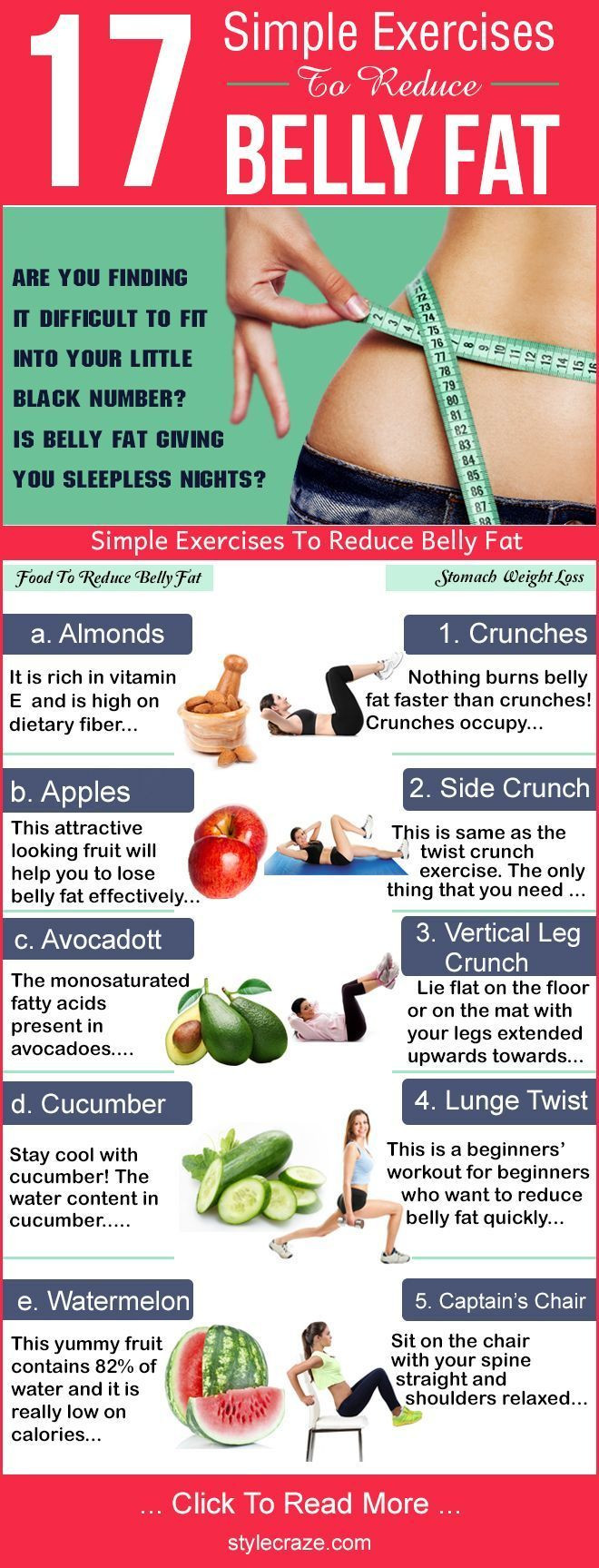 How To Lose Belly Fat For Women Over 40  16 Simple Exercises To Reduce Belly Fat