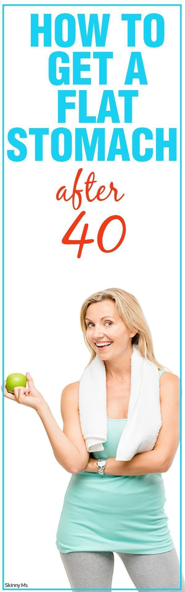 How To Lose Belly Fat For Women Over 40  How to Get a Flat Stomach After 40