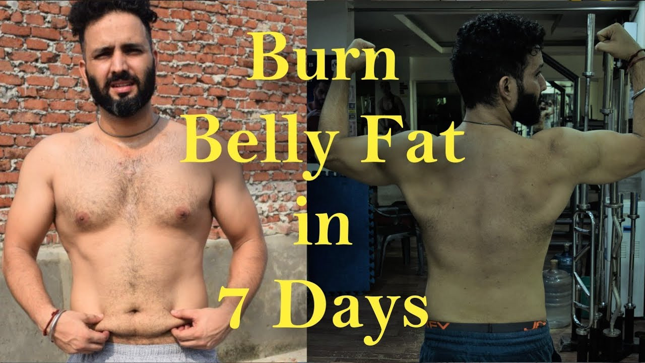 How To Lose Belly Fat In 7 Days  How to reduce lose belly fat IN 7 DAYS Belly Fat exercise