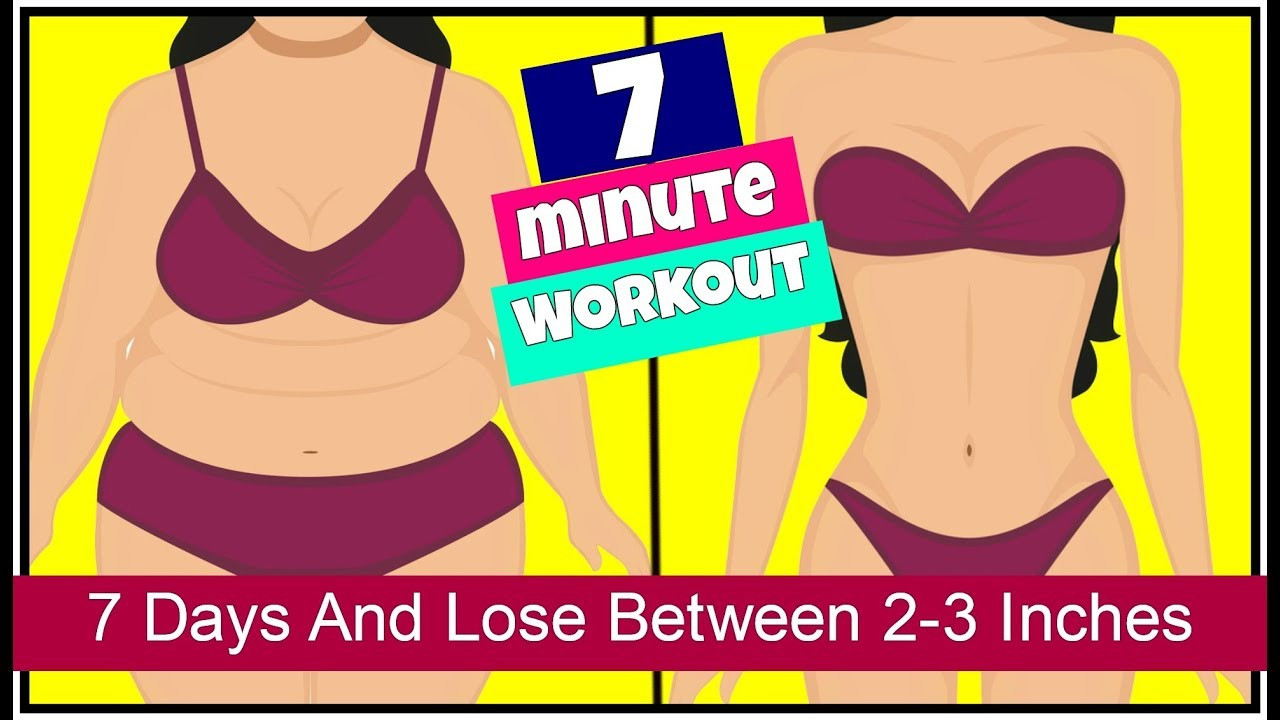 How To Lose Belly Fat In 7 Days  7 Days Challenge 7 Exercises To Lose Belly Fat