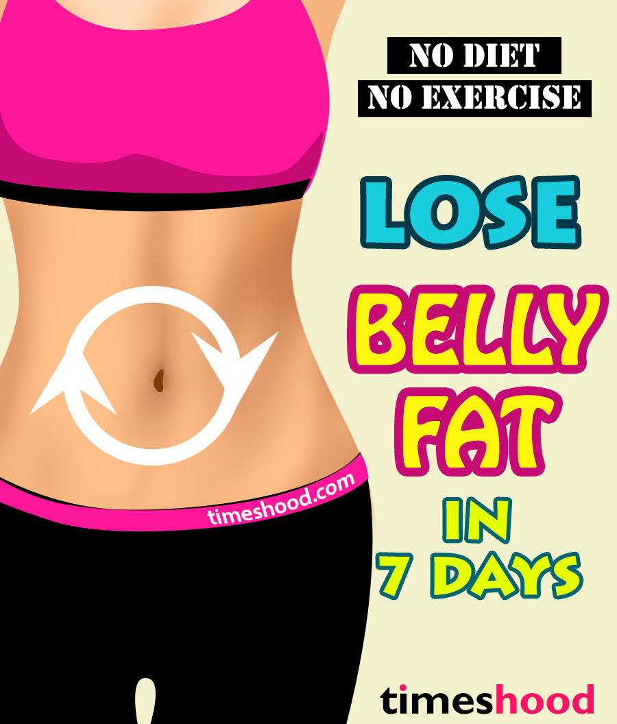 How To Lose Belly Fat In 7 Days  No Diet No Exercise How to Lose Belly Fat in 7 Days