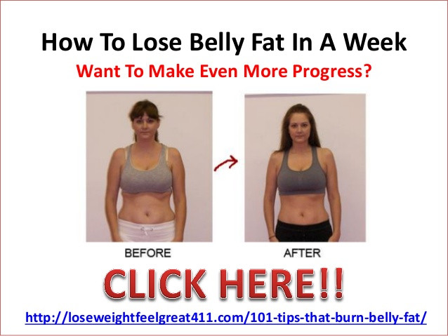 How To Lose Belly Fat In A Week  How to lose belly fat in 3 weeks naturally