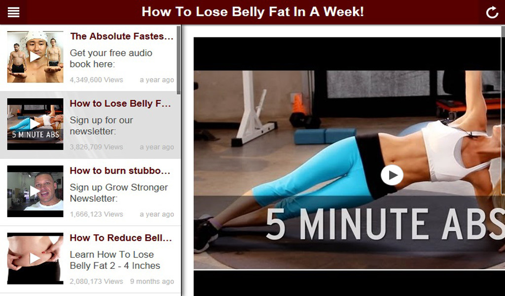 How To Lose Belly Fat In A Week  How To Lose Belly Fat In A Week Amazon Appstore