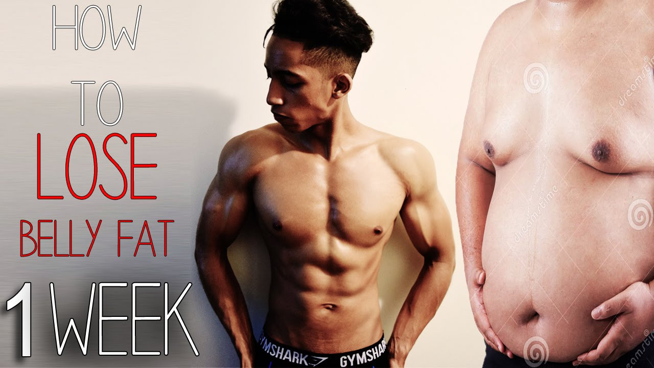 How To Lose Belly Fat In One Week  How To Lose Belly Fat In 1 Week Kids Teenagers Adults