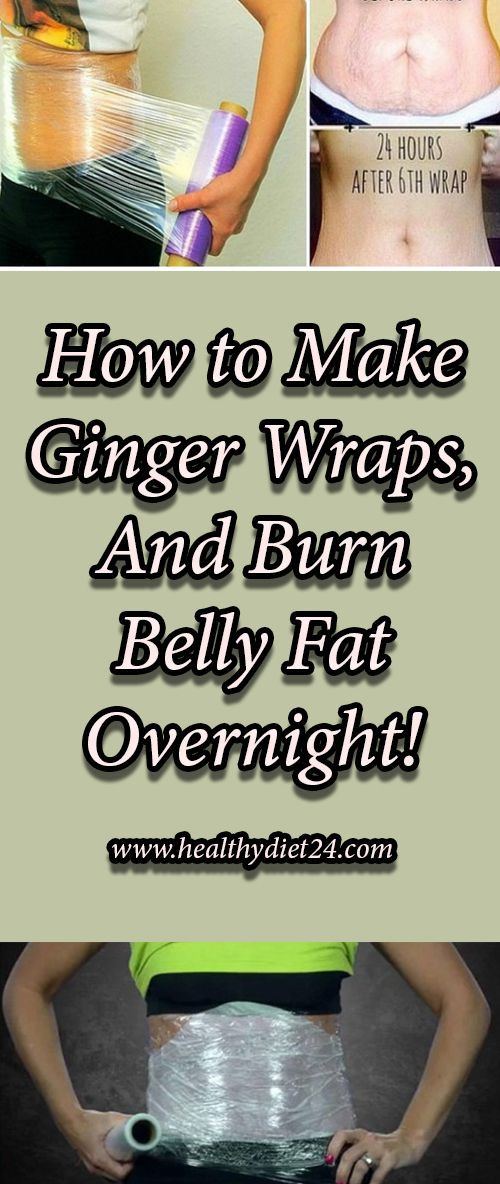 How To Lose Belly Fat Overnight Diy Body Wrap  How to Make Ginger Wraps And Burn Belly Fat Overnight