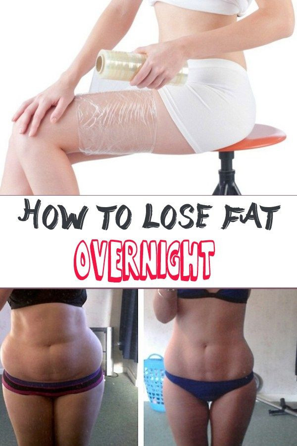 How To Lose Belly Fat Overnight Diy Body Wrap  How to lose fat overnight
