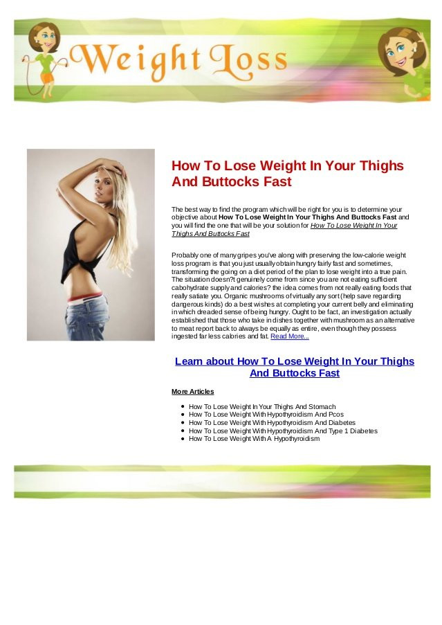 How To Lose Weight In Your Thighs  How to lose weight in your thighs pelicandistrict