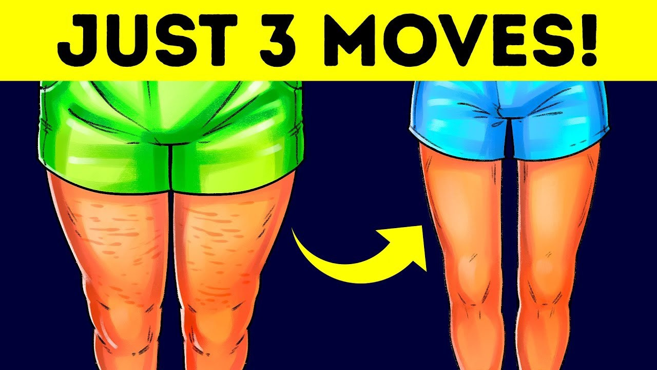How To Lose Weight In Your Thighs  3 Easy Exercises to Lose Thigh Fat