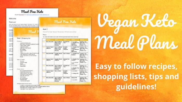 Keto Diet Vegan Plan  All Vegan Keto Meal Plans Meat Free Keto