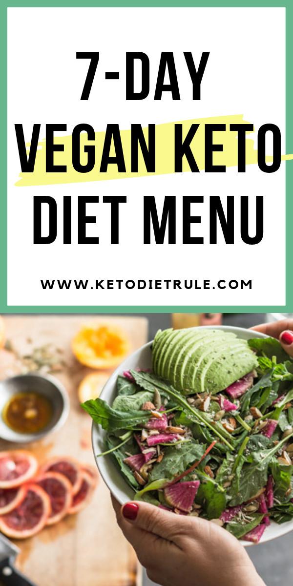 Keto Vegan Diet Plan  Pin on Keto Diet