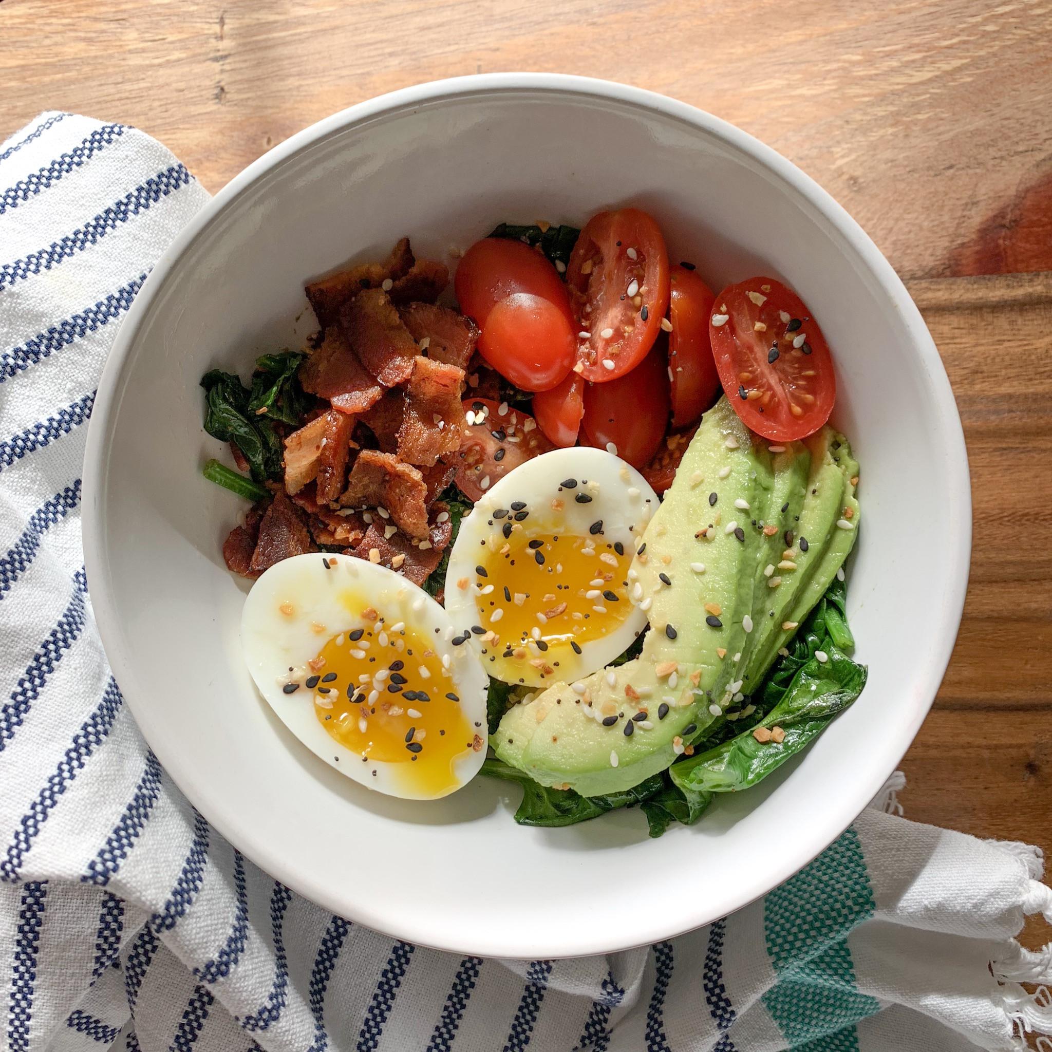 Ketosis Diet Breakfast  Keto Breakfast Bowl — My Healthy Dish