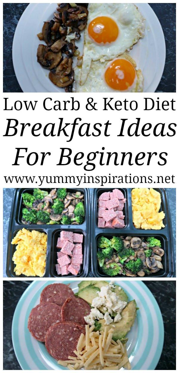 Ketosis Diet Breakfast  Keto Diet Beginners Breakfast Ideas Recipes For Low Carb